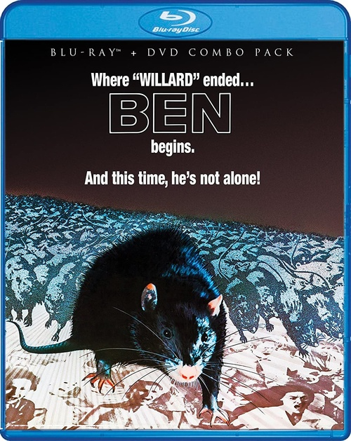Ben (region-A/1 blu-ray/DVD pack)