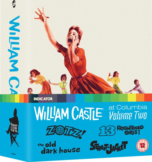 William Castle at Columbia vol.2 (region-B blu-ray box set)