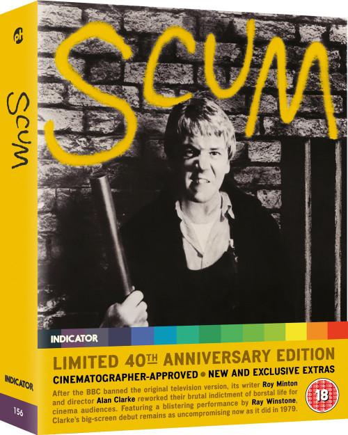 Scum (limited edition region-free blu-ray)