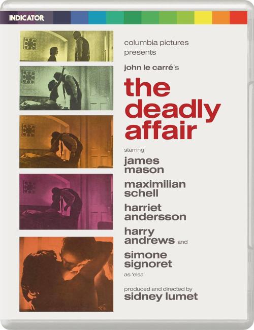 The Deadly Affair (region-free blu-ray/DVD)
