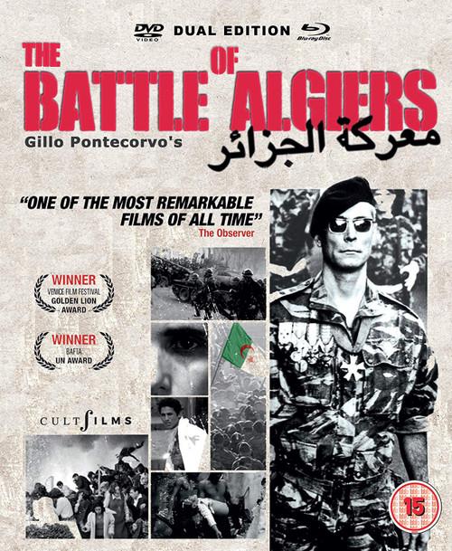 The Battle of Algiers (region-free Blu-ray/DVD combo)