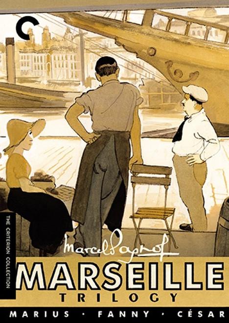 Marseille Trilogy (Criterion region-1 4DVD box set)