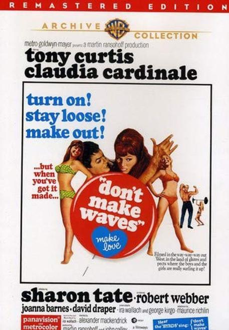 Don't Make Waves (region-1 DVD)
