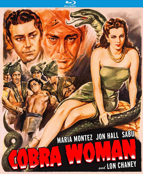 Cobra Woman (region-A Blu-ray)