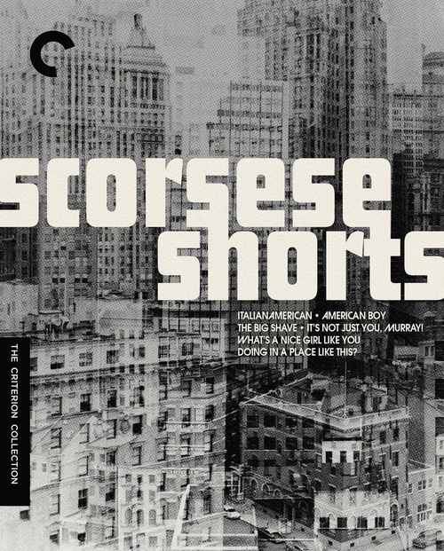 Scorsese Shorts (Criterion region-A blu-ray)