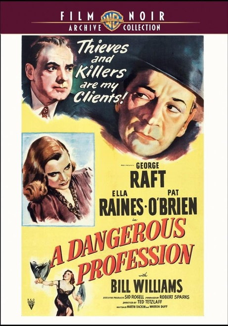 A Dangerous Profession (region-1 DVD)