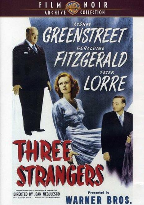 Three Strangers (region-1 DVD)