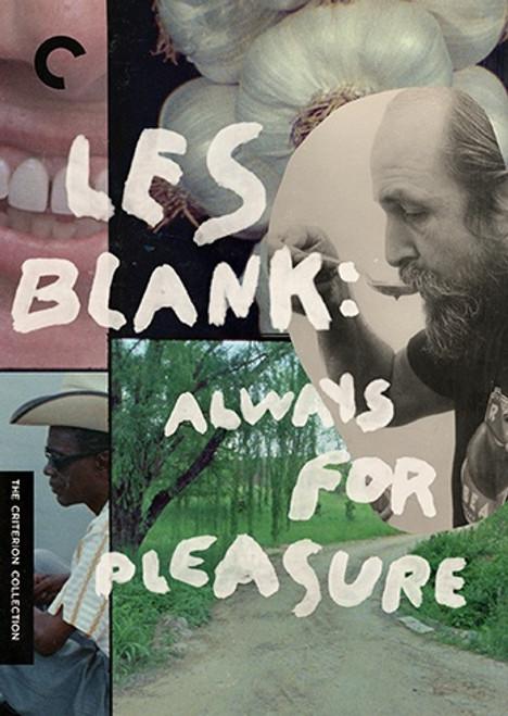 Les Blank: Always for Pleasure (Criterion region-1 5DVD set)
