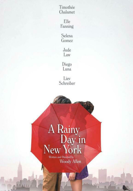 A Rainy Day in New York (region-1 DVD)
