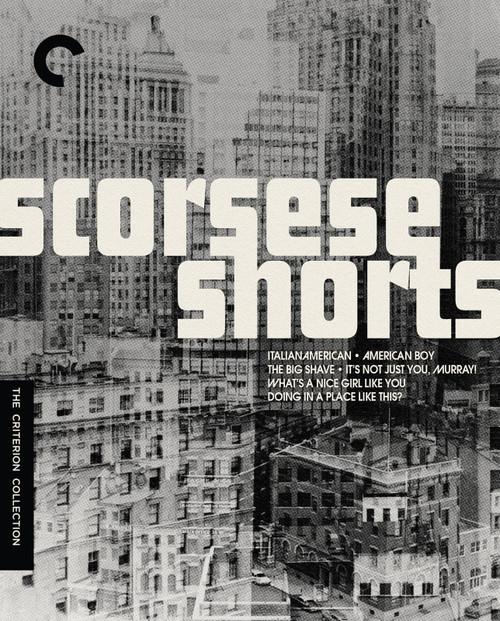 Scorsese Shorts (Criterion region-1 DVD)