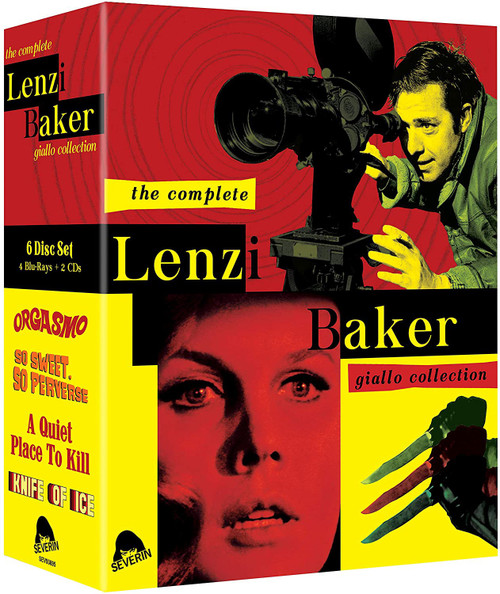 The Complete Lenzi Baker Giallo Collection (4 blu-rays and 2 CDs)