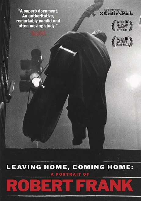 Leaving Home, Coming Home: A Portrait of Robert Frank (region-1 DVD)