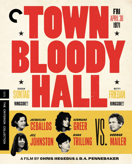Town Bloody Hall (Criterion region-1 DVD)