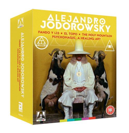 Alejandro Jodorowsky Collection (region-B Blu-ray box set)