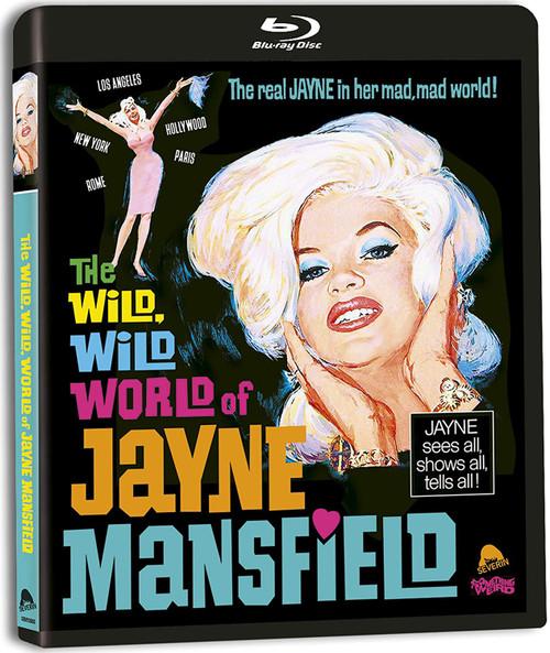 The Wild, Wild World of Jayne Mansfield (region-free blu-ray)