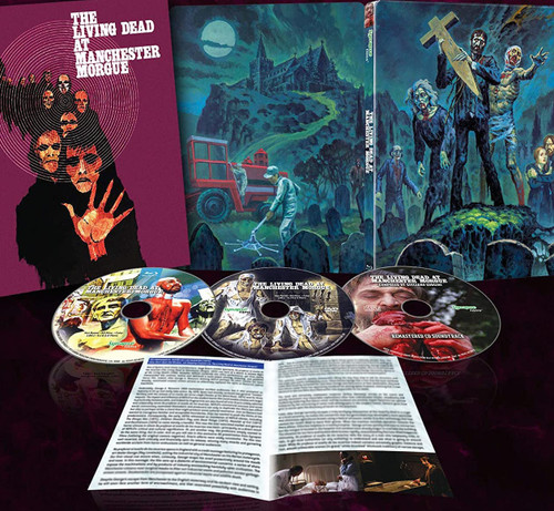 The Living Dead at Manchester Morgue (limited edition BR/DVD/CD)