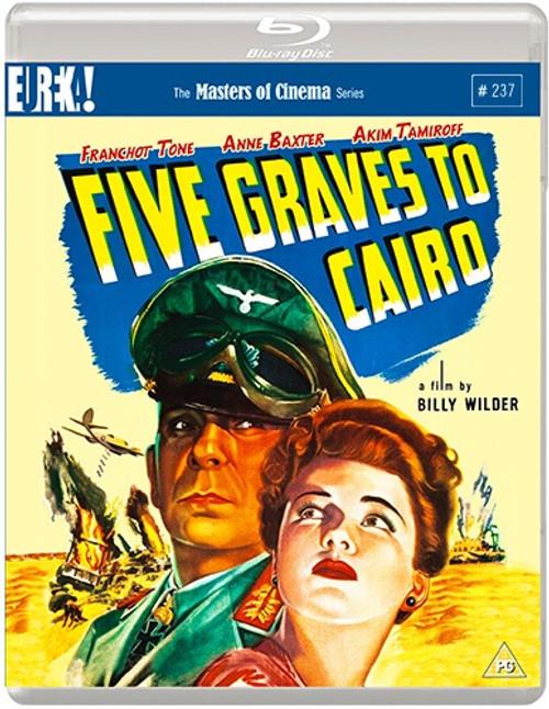 Five Graves to Cairo (region-B blu-ray)