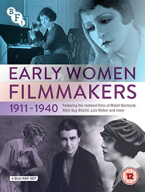 Early Women Filmmakers: 1911-1940 (region-B, 4 x blu-ray box set)