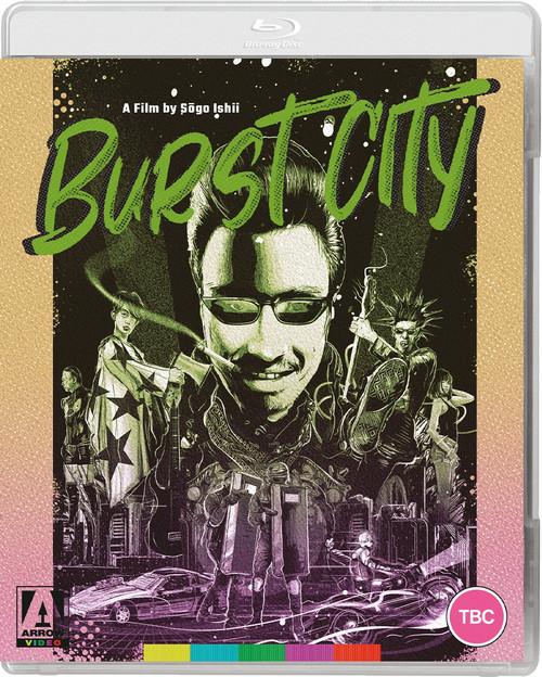 Burst City (region-A blu-ray)