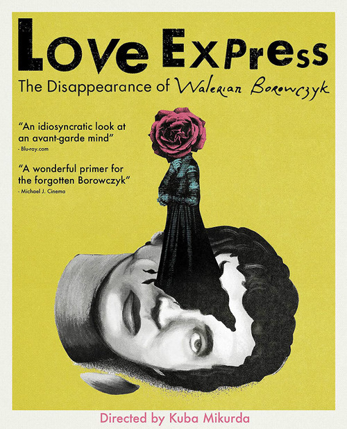 Love Express: The Disappearance of Walerian Borowczyk (region-free blu-ray)