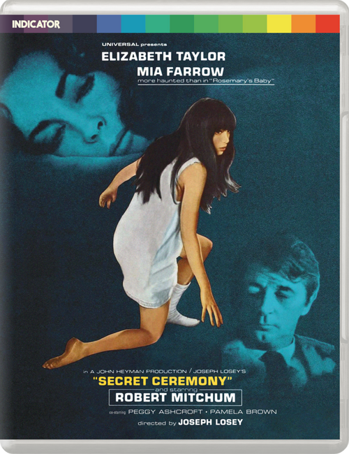 Secret Ceremony (region-B blu-ray)