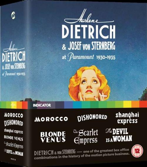 Dietrich & von Sternberg: Paramount 1930-1935 (region-B 6blu-ray box)