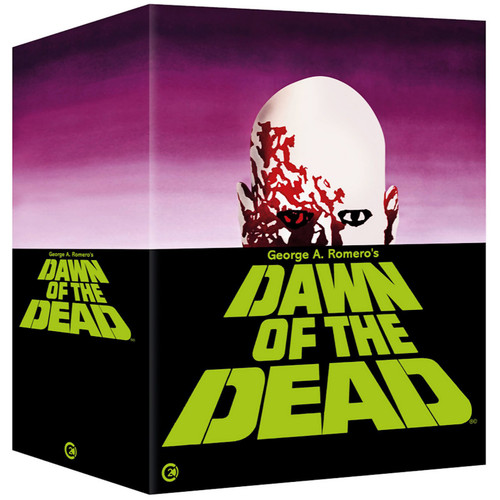 Dawn of the Dead (region-B 4blu-ray/3CD box set)
