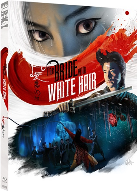 The Bride with White Hair (region-B blu-ray)