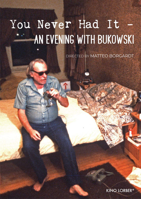 You Never Had It: An Evening with Bukowski (region-1 DVD)