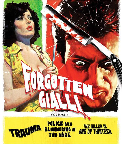 Forgotten Gialli Vol.1 (region-free 3 blu-ray set)