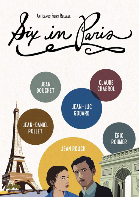 Six in Paris (Paris Vu Pas) (region-1 DVD)