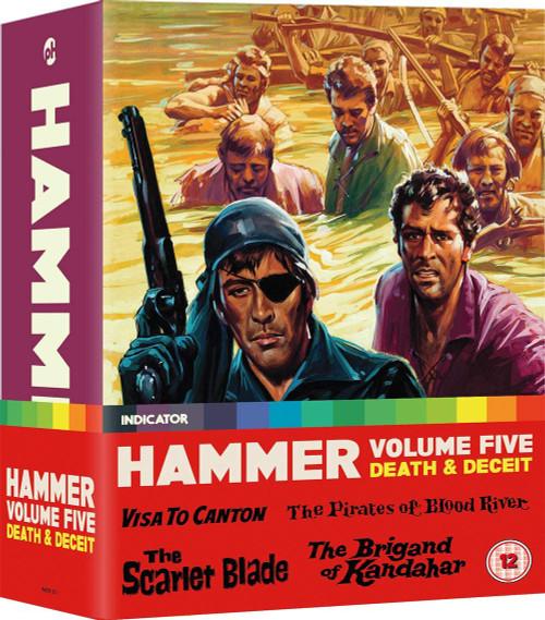 Hammer vol. 5: Death and Deceit (blu-ray 4-film set)