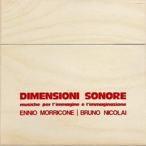 Dimensioni Sonore (10CD + 80-page booklet in wooden box)
