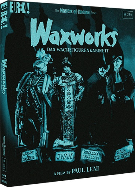 Waxworks (Eureka Masters of Cinema region-B blu-ray)
