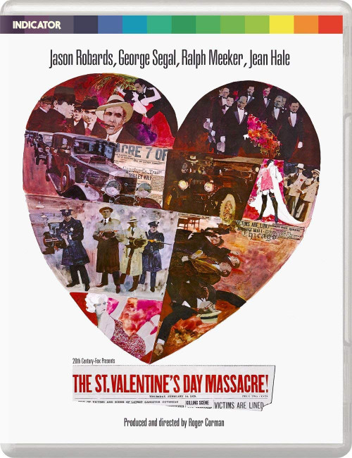 The St. Valentine's Day Massacre (region-B blu-ray)
