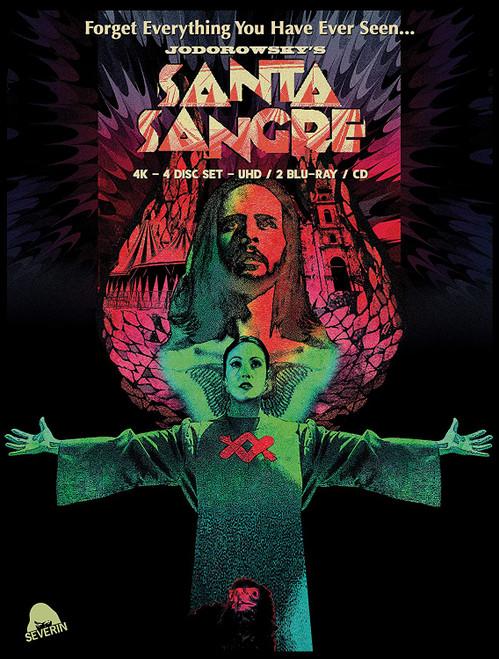 Santa Sangre (UHD 4-disc limited edition)