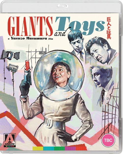 Giants and Toys (Arrow region-A blu-ray)