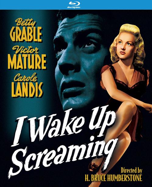 I Wake Up Screaming (region-A blu-ray)
