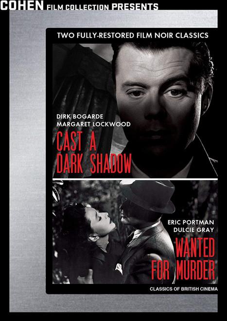 Cast a Dark Shadow / Wanted for Murder (region-1 DVD)