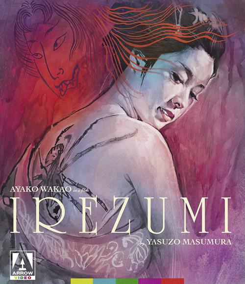 Irezumi (Arrow region-A blu-ray)