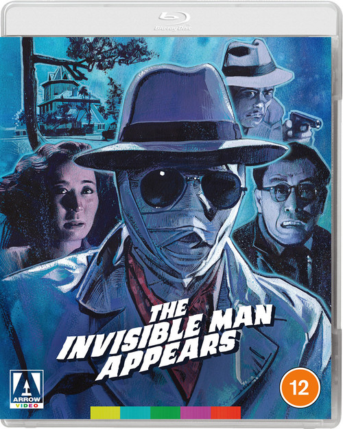 The Invisible Man Appears (region-B blu-ray double-feature)