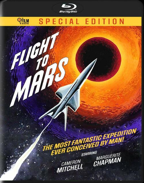 Flight to Mars (region-free blu-ray)