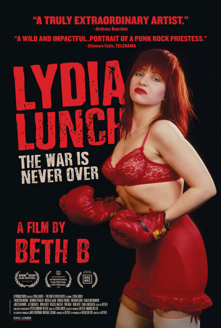 Lydia Lunch: The War is Never Over (region-1 DVD)