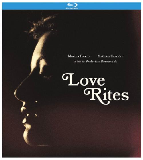 Love Rites (region-A blu-ray)