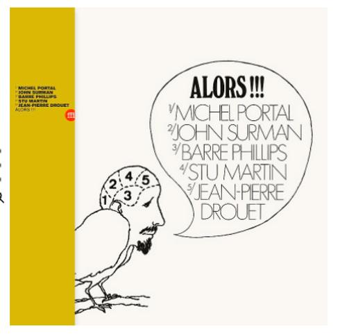 Alors!!! (vinyl LP)