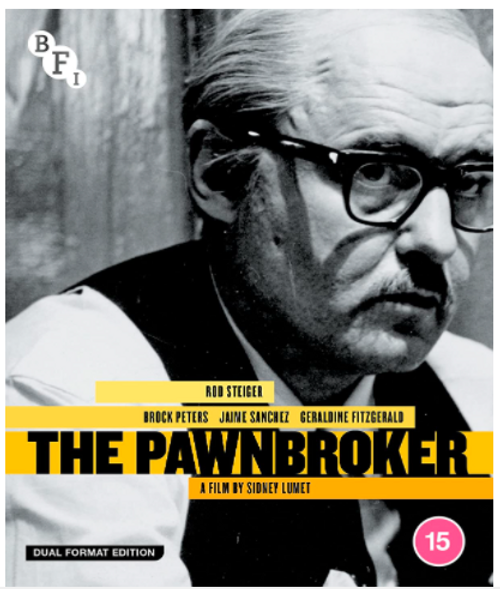 The Pawnbroker (region-B/2 blu-ray/DVD)