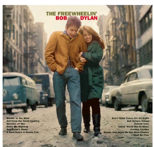 The Free Wheelin' Bob Dylan (vinyl LP)
