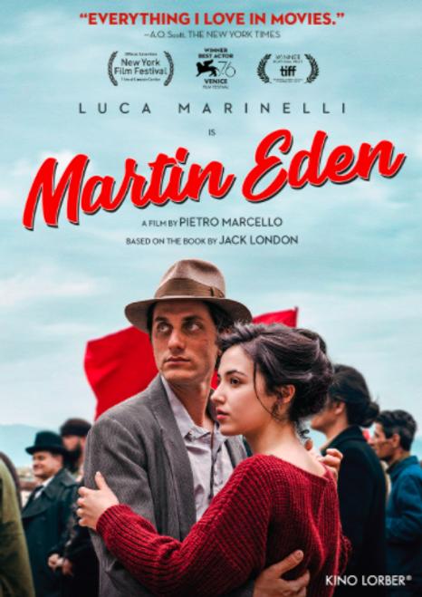 Martin Eden (region-1 DVD)
