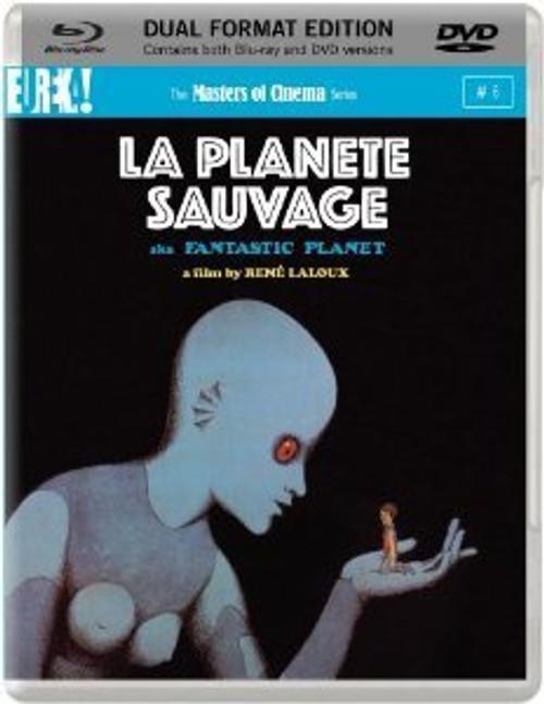La Planete Sauvage (region B/2 Blu-ray/DVD)