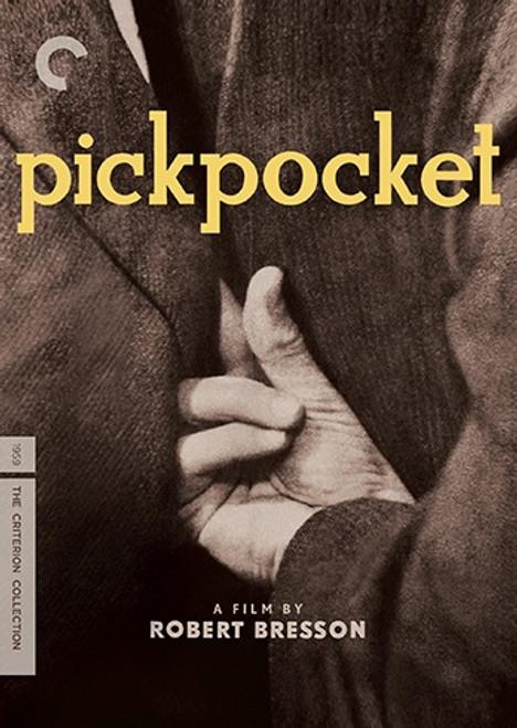 Pickpocket (region 1 DVD)